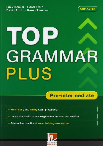 9783852726298: Top grammar plus. Pre-intermediate.