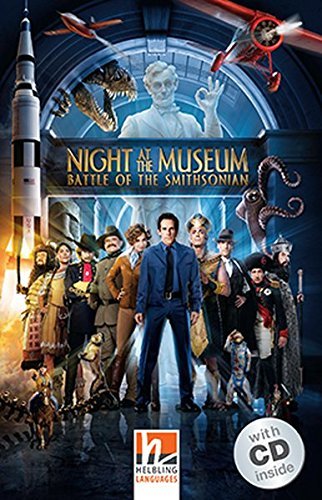 Night at the Museum - Battle of the Smithsonian, m. 1 Audio-CD: Helbling Readers Movies / Level 3