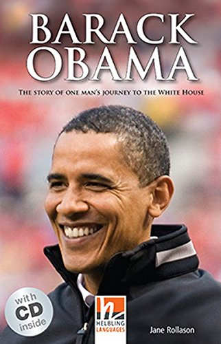 9783852726885: Barack Obama, mit 1 Audio-CD. Level 3 (A2)