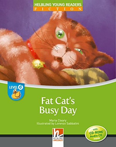 9783852727288: Fat cat's busy day. Big book. Level D. Young readers (Helbling Young Readers)