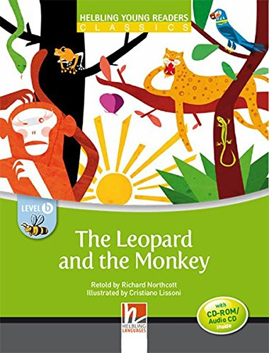 9783852727813: The Leopard and the Monkey - Young Reader Level B with Audio CD