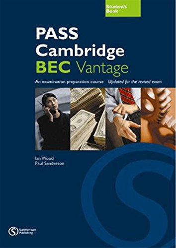9783852728834: PASS Cambridge, BEC Vantage