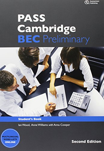 9783852729664: PASS Cambridge BEC, Preliminary. 2nd Ed: Student's Book