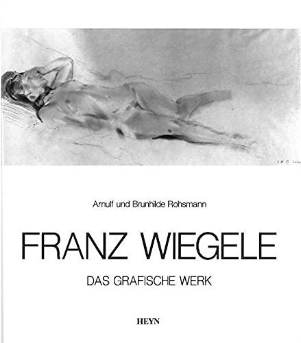 9783853665831: Franz Wiegele 1887-1944: Das graphische Werk