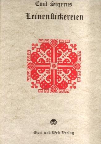 9783853730454: Siebenbürgisch-sächische Leinenstickereien