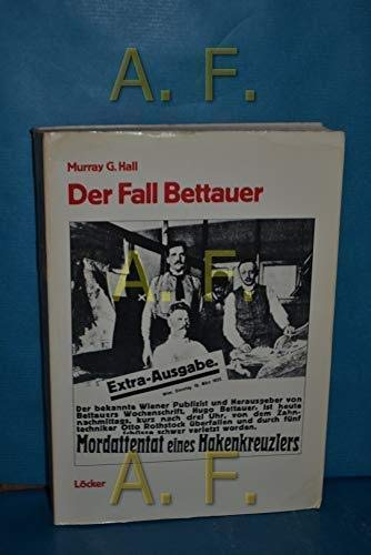 9783854090021: Der Fall Bettauer (German Edition)
