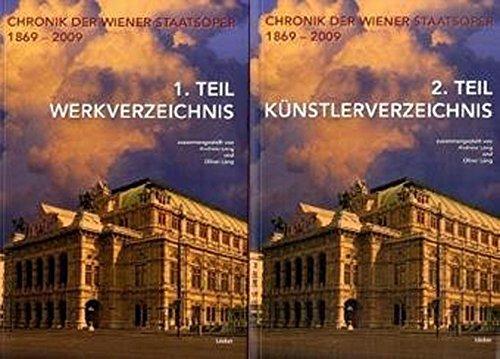 Chronik der Wiener Staatsoper 1869 bis 2009: Andreas Lang