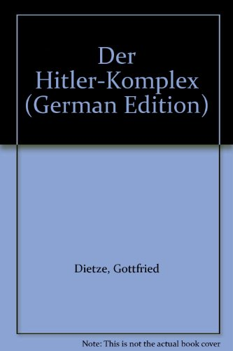 9783854180463: Der Hitler-Komplex (German Edition)