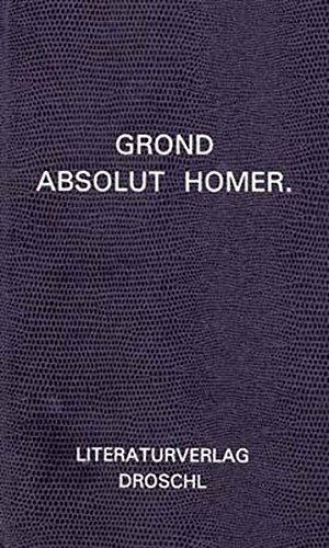 Absolut Homer: Walter Grond
