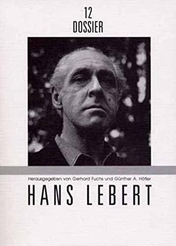 9783854204701: Hans Lebert