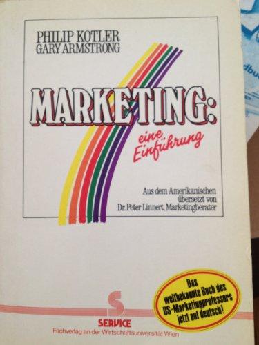9783854281092: Marketing: eine Einführung