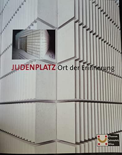 9783854312178: Judenplatz Ort Der Erinnerung