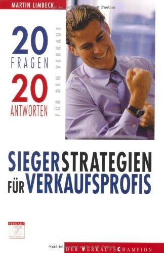 9783854363279: Siegerstrategien für Verkaufsprofis