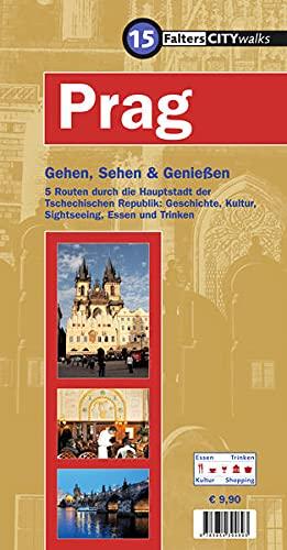 9783854394693: Falter CityWalks Prag: Gehen, sehen und genie�en