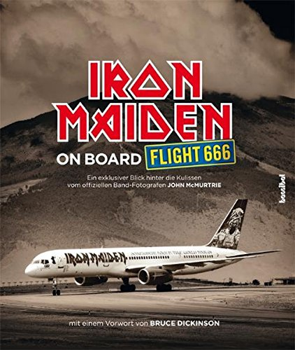 9783854453741: Iron Maiden - On Board Flight 666