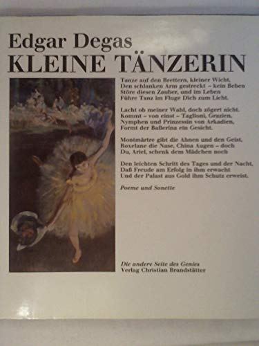Kleine Tänzerin : Sonette u. Poeme. Hrsg.: Degas, Edgar: