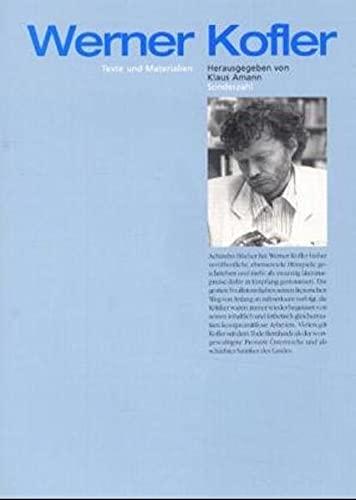 Werner Kofler: Klaus Amann