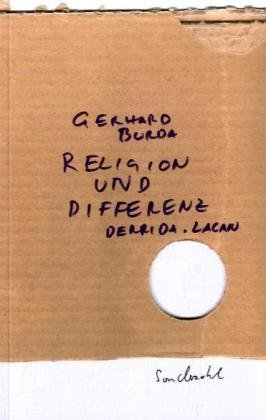 9783854492924: Religion und Differenz: Derrida. Lacan