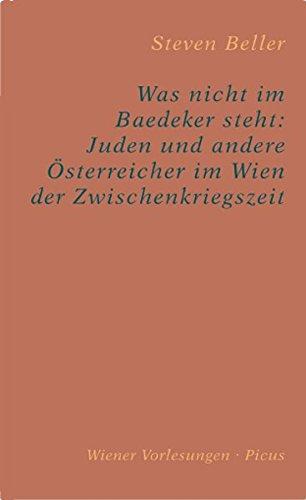 9783854525363: Was nicht im Baedeker steht: Juden und andere Österreicher im Wien der Zwischenkriegszeit