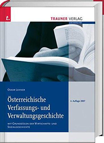 Österreichische Verfassungs- und Verwaltungsgeschichte: Oskar Lehner