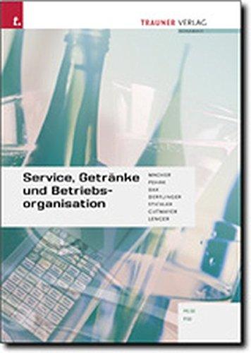 9783854873501: Service, Getränke und Betriebsorganisation