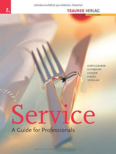9783854874225: Service - A guide for professionals