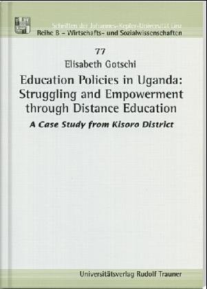 9783854875642: Education Policies in Uganda: Struggling and Empowerment through Distance Education