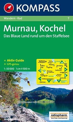 9783854910091: 7: Mumau - Kochel - Staffelsee 1:50, 000