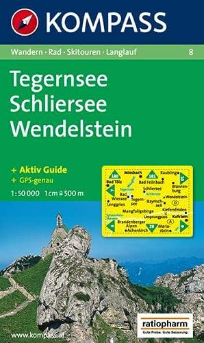 9783854910107: Tegernsee/schliersee/wendelstein  1/50.000 n 8 (Carte de Randon)