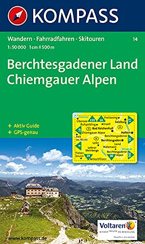 BERCHTESGADENER LAND 14 1/50.000 (CARTE DE RANDONNEE - 1/50.000) (French Edition)