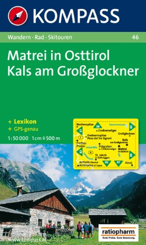 9783854910527: Carta escursionistica n. 46. Austria. Tirolo... Matrei in Osttirol-Kats am Grossglockner 1:50.000. Adatto a GPS. DVD-ROM. Digital map