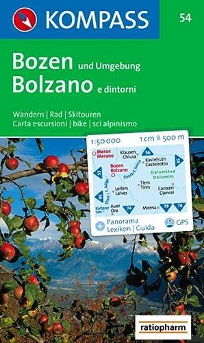 Bozen und Umgebung/Bolzano e dintorni: Wandern /