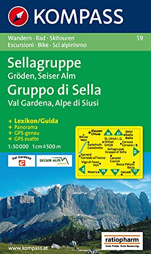 Sellagruppe/Gruppo di Sella, Gröden/Val Gardena, Seiser Alm/Alpe