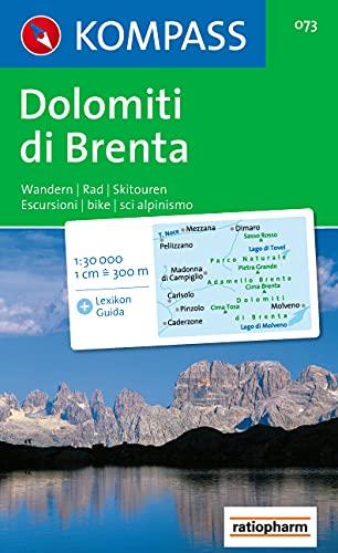 9783854910831: Dolomiti di Brenta
