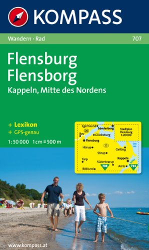 9783854912408: 707: Flensburg - Kappein 1:50, 000