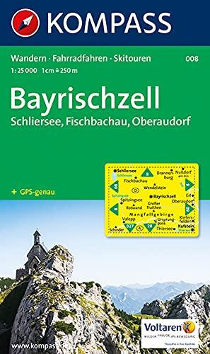 Bayrischzell, Schliersee 1 : 25 000: Schliersee, Fischbachau, Oberaudorf. Wandern / Rad /...