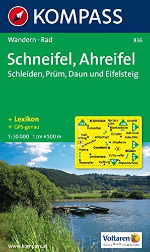 Schneifel - Ahreifel 1 : 50 000: Schleiden - Prüm - Daun. Wander- und Bikekarte. GPS-genau