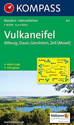 9783854913627: Vulkaneifel 837 GPS kompass