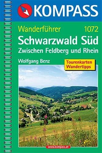 9783854913849: Schwarzwald S�d - Kompass Wanderf�hrer