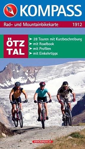 9783854914679: Rad- und Mountainbikekarte Ötztal
