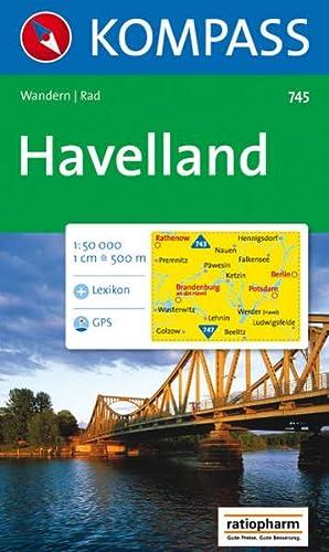 9783854915058: Havelland 1 : 50 000: Wandern / Rad