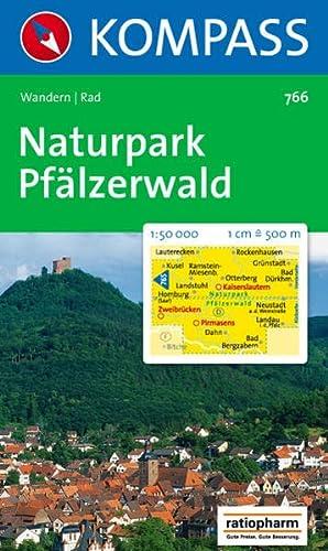 9783854915232: 766: Naturpark Pfalzerwald 1:50, 000 (Carte Touristiq)