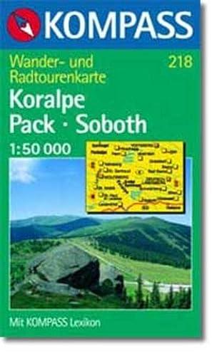 9783854916505: 218: Koralpe - Pack - Soboth 1:50, 000