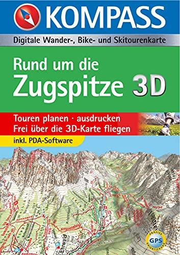 9783854916543: Carta digitale Austria n. 4025. Rund um die Zugspitze. Con DVD-ROM. Digital map
