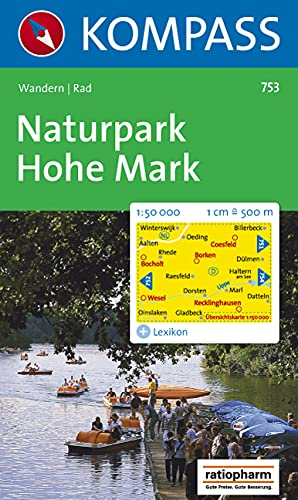 9783854916628: Naturpark Hohe Mark 753 Kompass