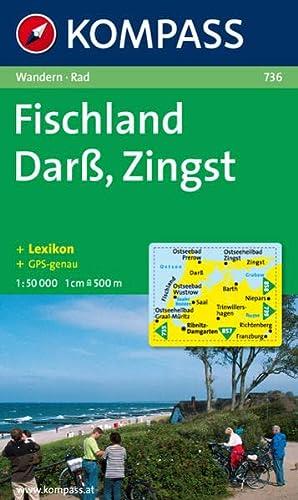 Kompass Karten, Darß, Zingst, Fischland