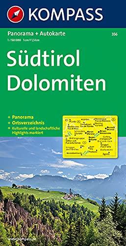 9783854918189: Kompass Karten, S�dtirol, Dolomiten