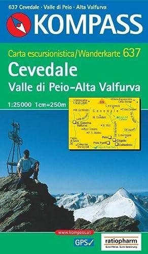 9783854918899: cevedale/valle di peio 1/25.000