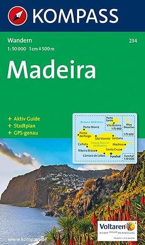 9783854919766: Carta escursionistica n. 234. Portogallo. Madeira 1:50.000. Adatto a GPS. Digital map. DVD-ROM (Wanderkarte)