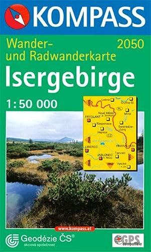 9783854919902: 2050: Isergebirge 1:50, 000